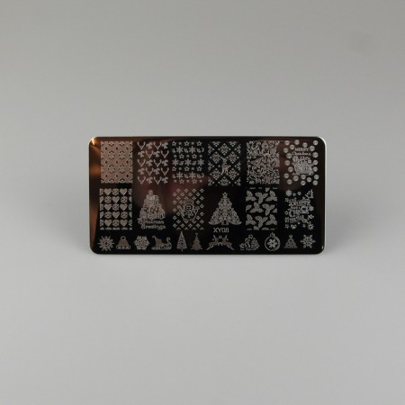 Christmas Stamping Plade XY80