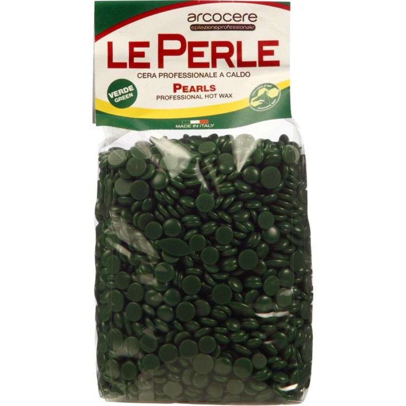 Image of   Green Wax Pearls 1000g