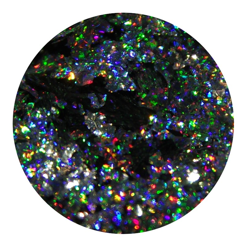 Image of   Holo Silver Chrome Flakes