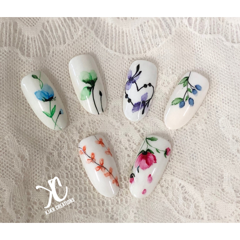 Image of   Akvarel Nail Art